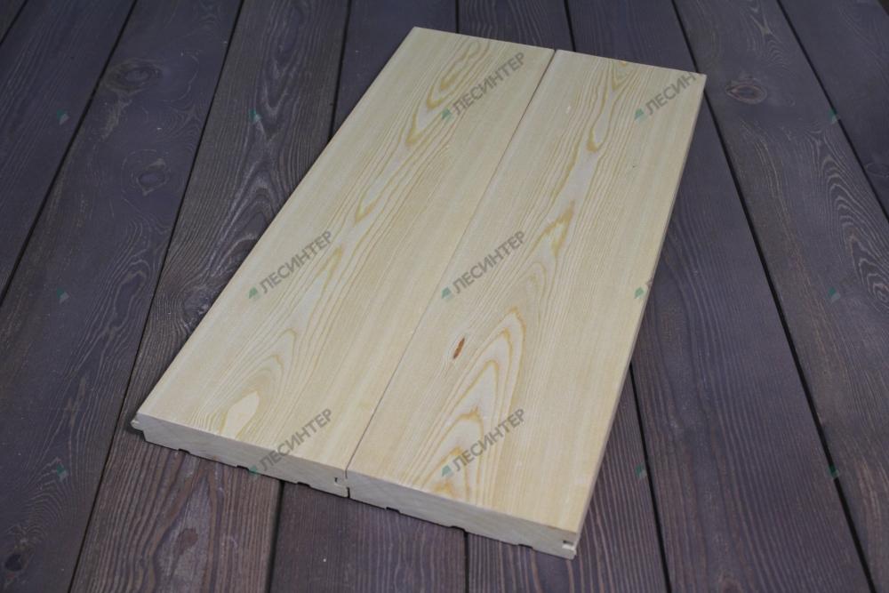 Larch floorboard