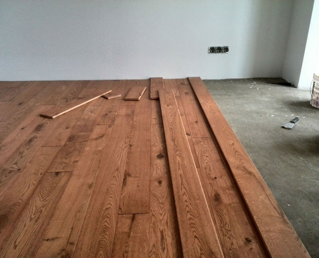 Laying parquet