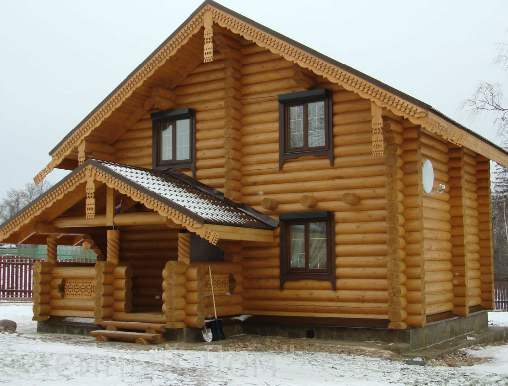 Классификация домов из дерева, преимущества разных видов