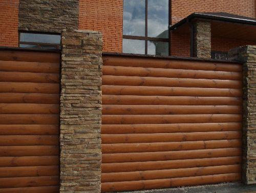 Blockhouse fence