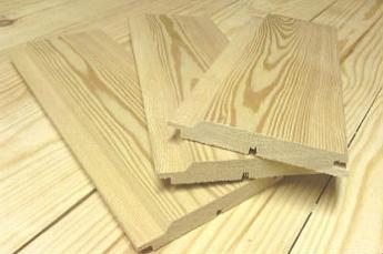 Виды строительных материалов из лиственницы